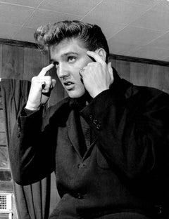 Elvis Presley Deep in Thought