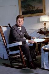 John F. Kennedy Fine Art Print
