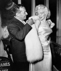 Ciro's Owner Herbert Hover and Marilyn Monroe Fine Art Print