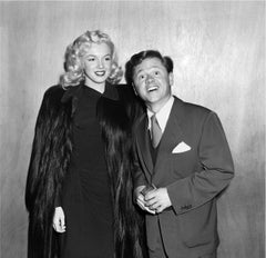 Marilyn Monroe and Mickey Rooney Fine Art Print