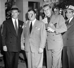 Bud Abbott, George Jessel, and Lou Costello Fine Art Print