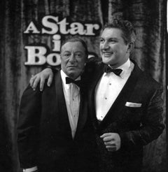 Liberace and George Jessel Fine Art Print
