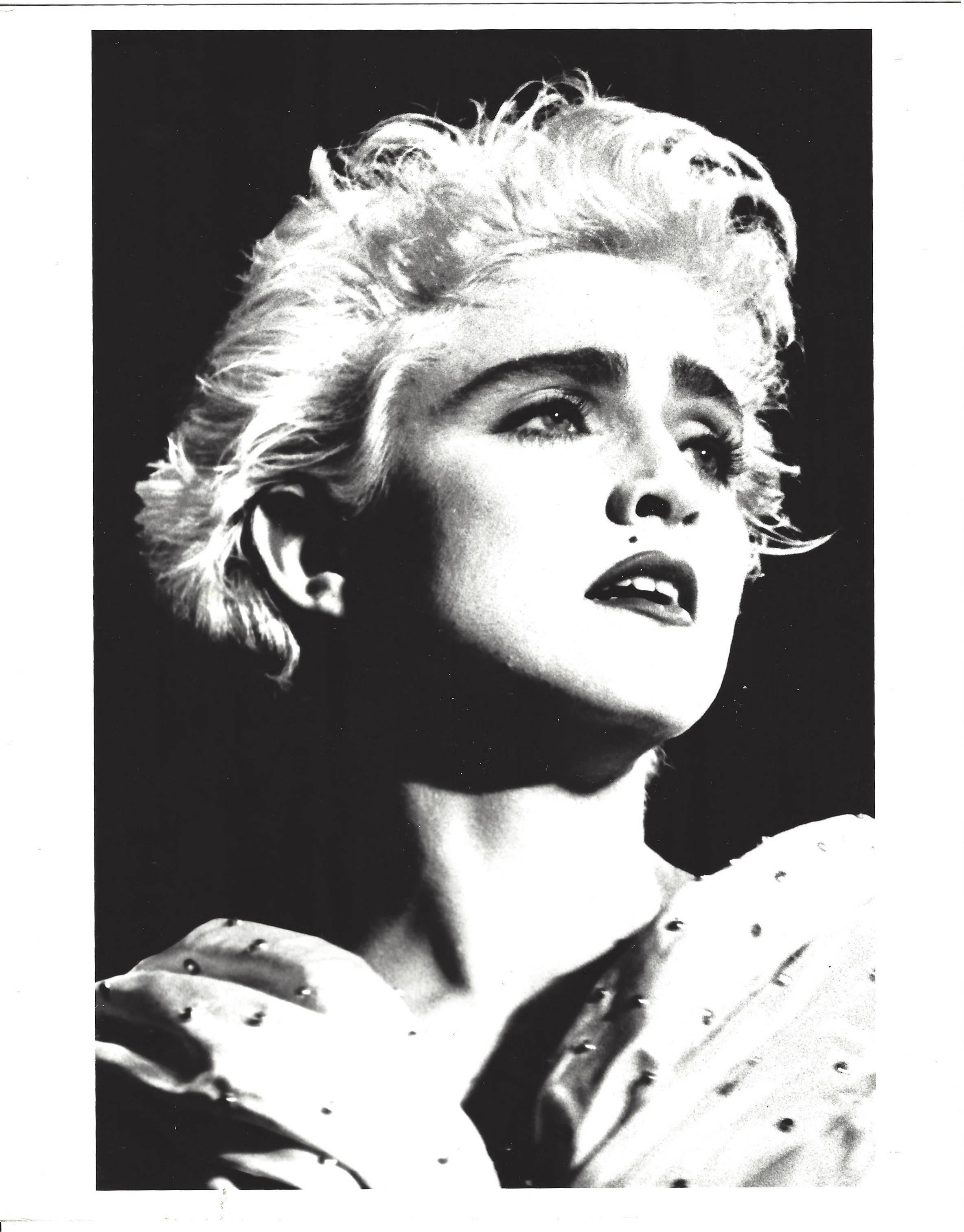 Unknown high contrast madonna portrait