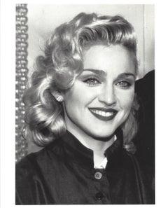 Madonna Head and Shoulders Portrait Vintage Original Photograph