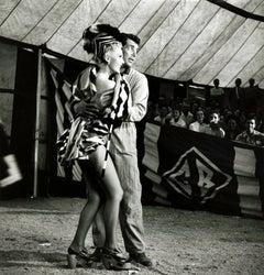 "Dean Martin Dancing with Zsa Zsa Gabor in ""3 Ring Circus"" Fine Art Print"