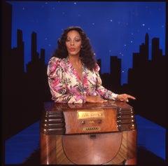 Donna Summer Leaning on Radio