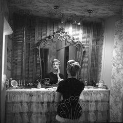 Shirley Jones in Mirror Fine Art Print