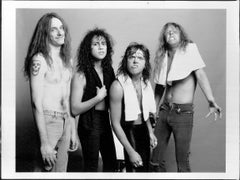 Metallica with Towels Vintage Original Photograph