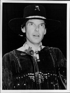Neil Young in Costume Vintage Original Photograph