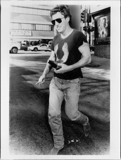 Bruce Springsteen Walking Candid Vintage Original Photograph