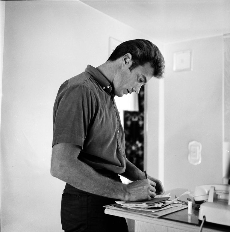 Image result for clint eastwood writing