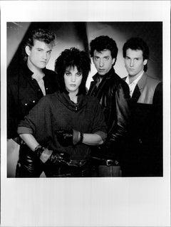 Joan Jett and the Blackhearts Group Portrait Vintage Original Photograph