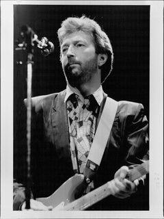Eric Clapton Performing Vintage Original Photograph