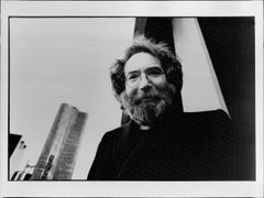 Jerry Garcia in the City Vintage Original Photograph