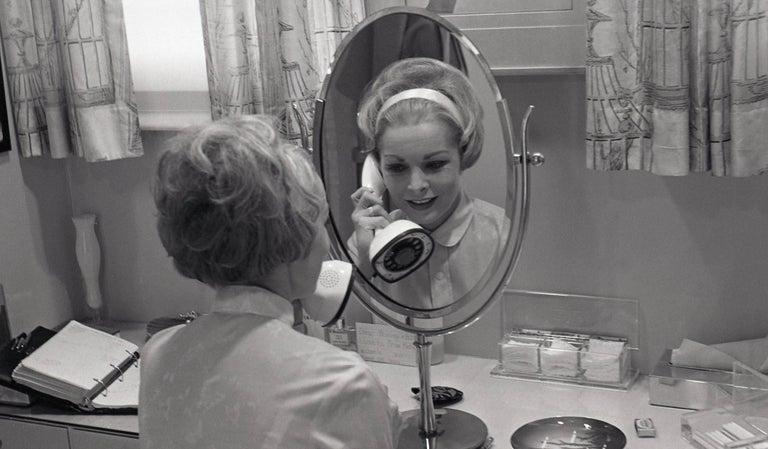 "Janet Leigh, the Scream Queen of ""Psycho"", in Mirror Fine Art Print"