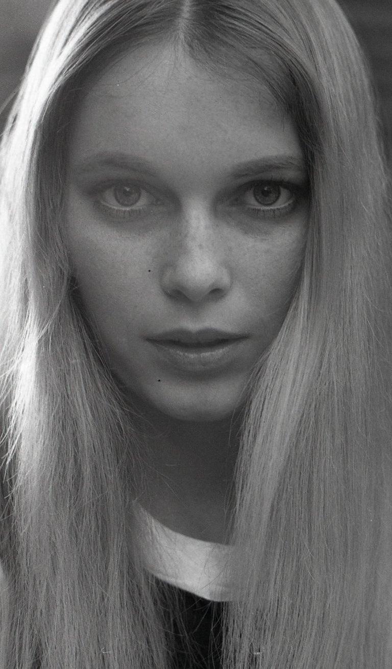 965c2981cc Doris Nieh - Young Mia Farrow in Sexy Closeup Portrait Fine Art ...