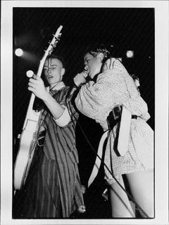 Bow Wow Wow Rocking Out on Stage Vintage Original Photograph