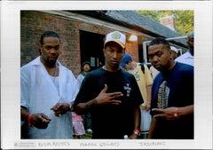 Busta Rhymes, Pharell, and Timbaland Vintage Original Photograph