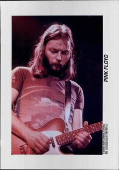 David Gilmour of Pink Floyd Vintage Original Photograph