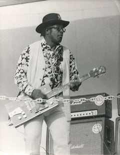 Bo Diddley in Concert Vintage Original Photograph