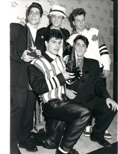 New Kids on the Block at the American Music Awards Vintage Original Photograph