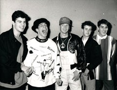 New Kids on the Block in Universal City Vintage Original Photograph