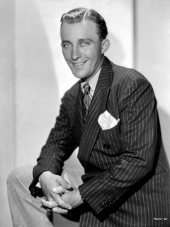 Bing Crosby Smiling Fine Art Print