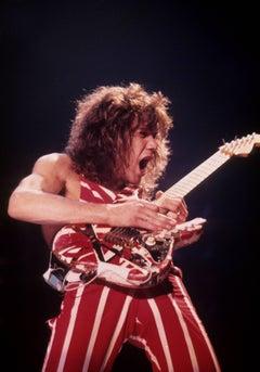 Eddie Van Halen Rocking Out Fine Art Print