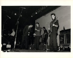 The Pogues on Stage Vintage Original Photograph