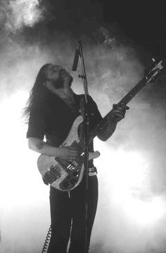 Lemmy of Motörhead Performing on Stage