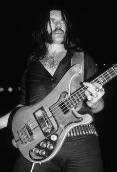 Lemmy of Motörhead Closeup on Stage Fine Art Print