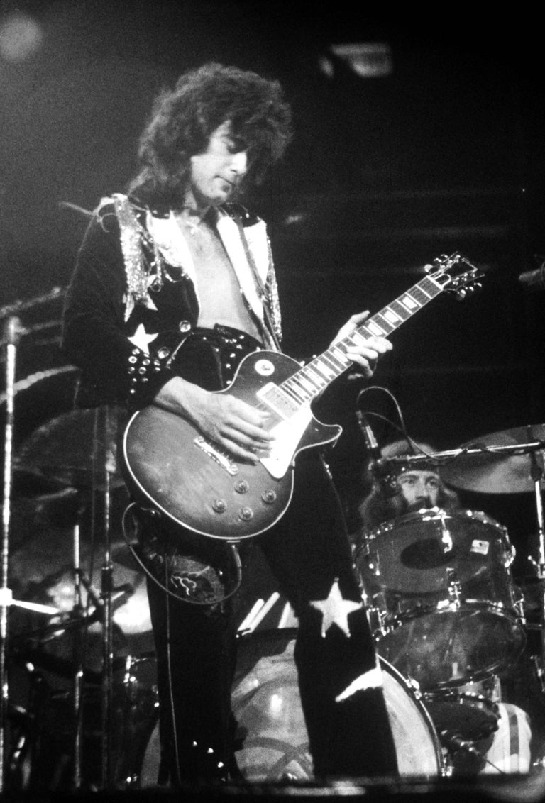 David plastik jimmy page of led zeppelin