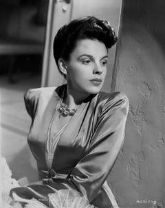 Judy Garland Glamour Profile Portrait Fine Art Print