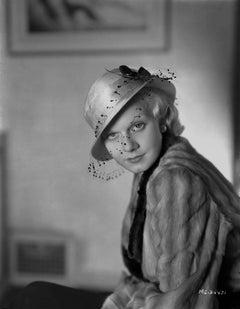 Jean Harlow in Hat Fine Art Print