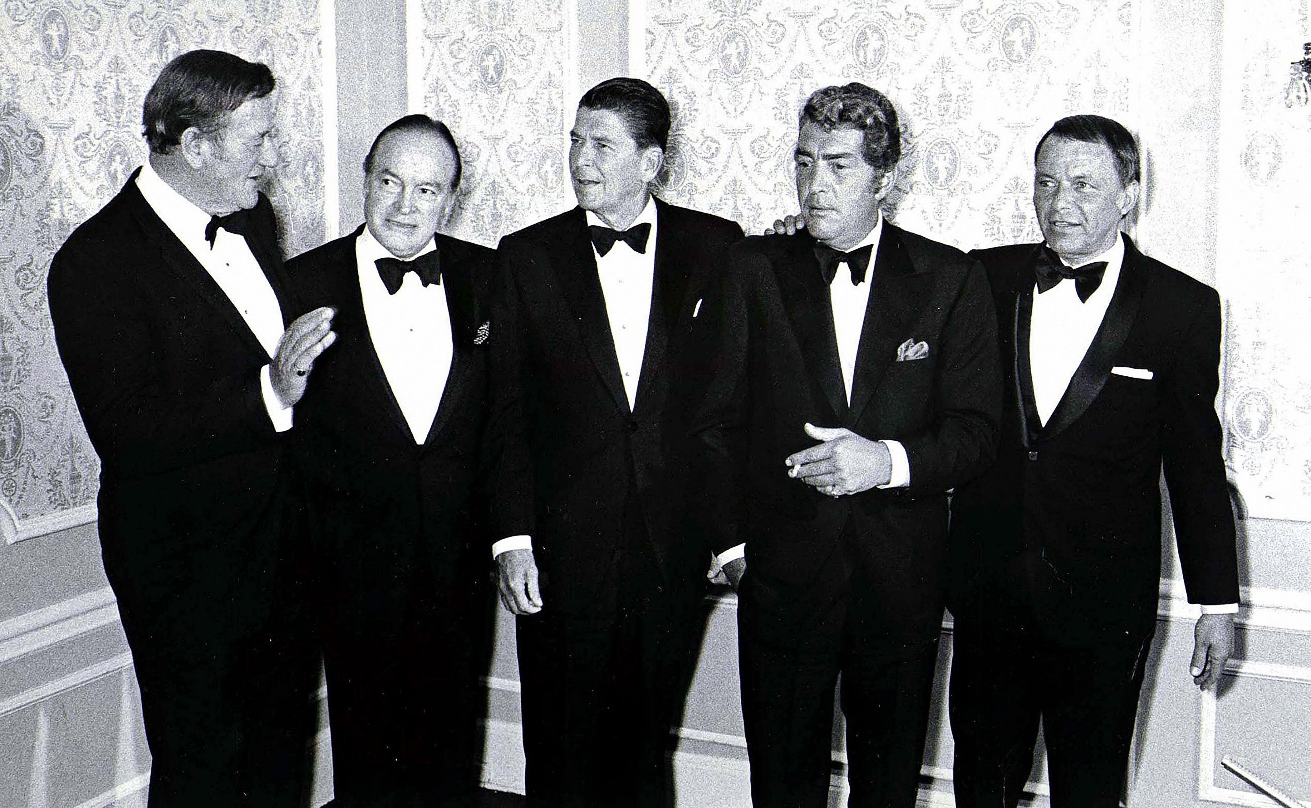 Phil Roach John Wayne Bob Hope Ronald Reagan Dean Martin And