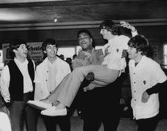 The Beatles' Historic Meeting With Muhammad Ali Fine Art Print