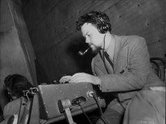 Orson Welles Typing Fine Art Print