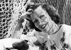 Gloria Swanson Smiling in Classical Portrait Fine Art Print