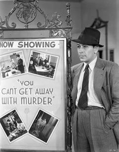 """George Raft """"You Can't Get Away With Murder"""" Fine Art Print"""