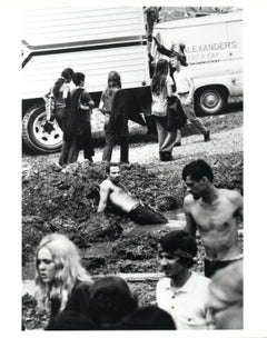 Hipies at Woodstock Vintage Original Photograph