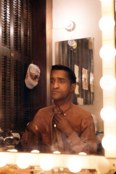Sammy Davis Jr. in Dressing Room Fine Art Print