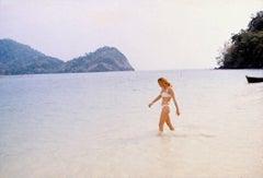 Ursula Andress in the Ocean Fine Art Print