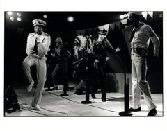 The Village People in Costume on Stage Vintage Original Photograph
