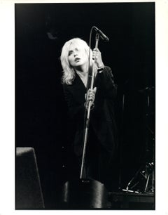 Blondie Singing Vintage Original Photograph