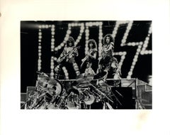 KISS on Stage Vintage Original Photograph