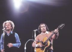 Simon and Garfunkel Performing Live Fine Art Print