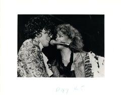 Prince and Sheila E. Singing Together Vintage Original Photograph