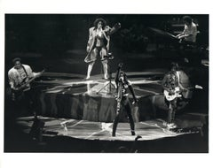 Prince and Sheila E. Performing on Stage Vintage Original Photograph