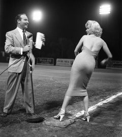 Marilyn Monroe Throws Out the First Pitch