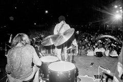 Jimi Hendrix and the  Experience Performing on Stage Fine Art Print